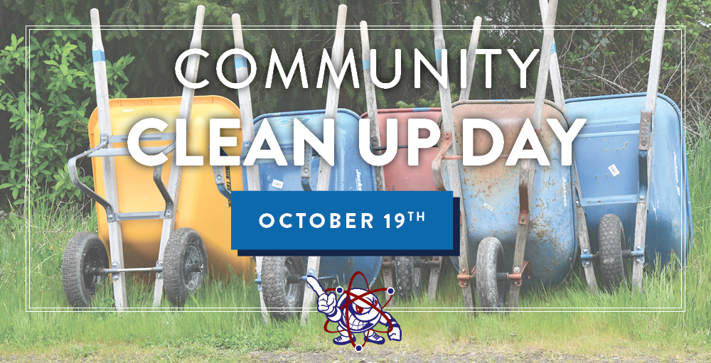 Intergenerational Fall Community Clean Up Day is Saturday, October 19th at 9:00 AM