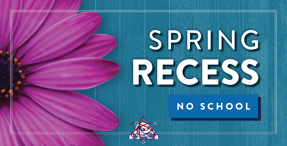 Utica Academy of Science will be on Spring Recess and there will be no school starting Friday, April 2nd through Friday, April 9th. Classes will resume on Monday, April 12th.