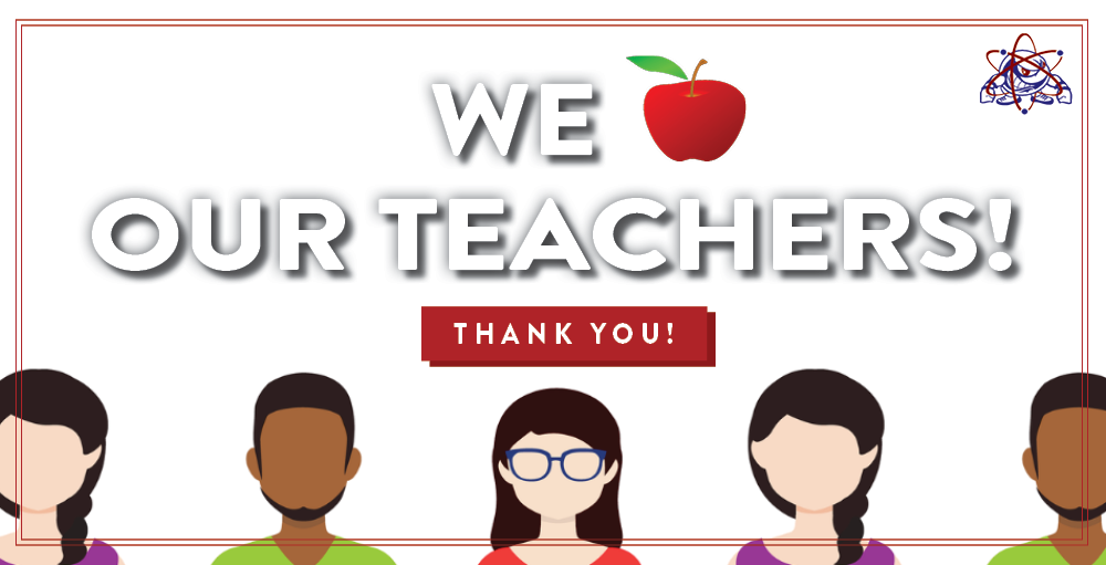 In honor of Teacher Appreciation Day, SANY would like to thank all of their teachers for their dedication, hard work and passion for education.