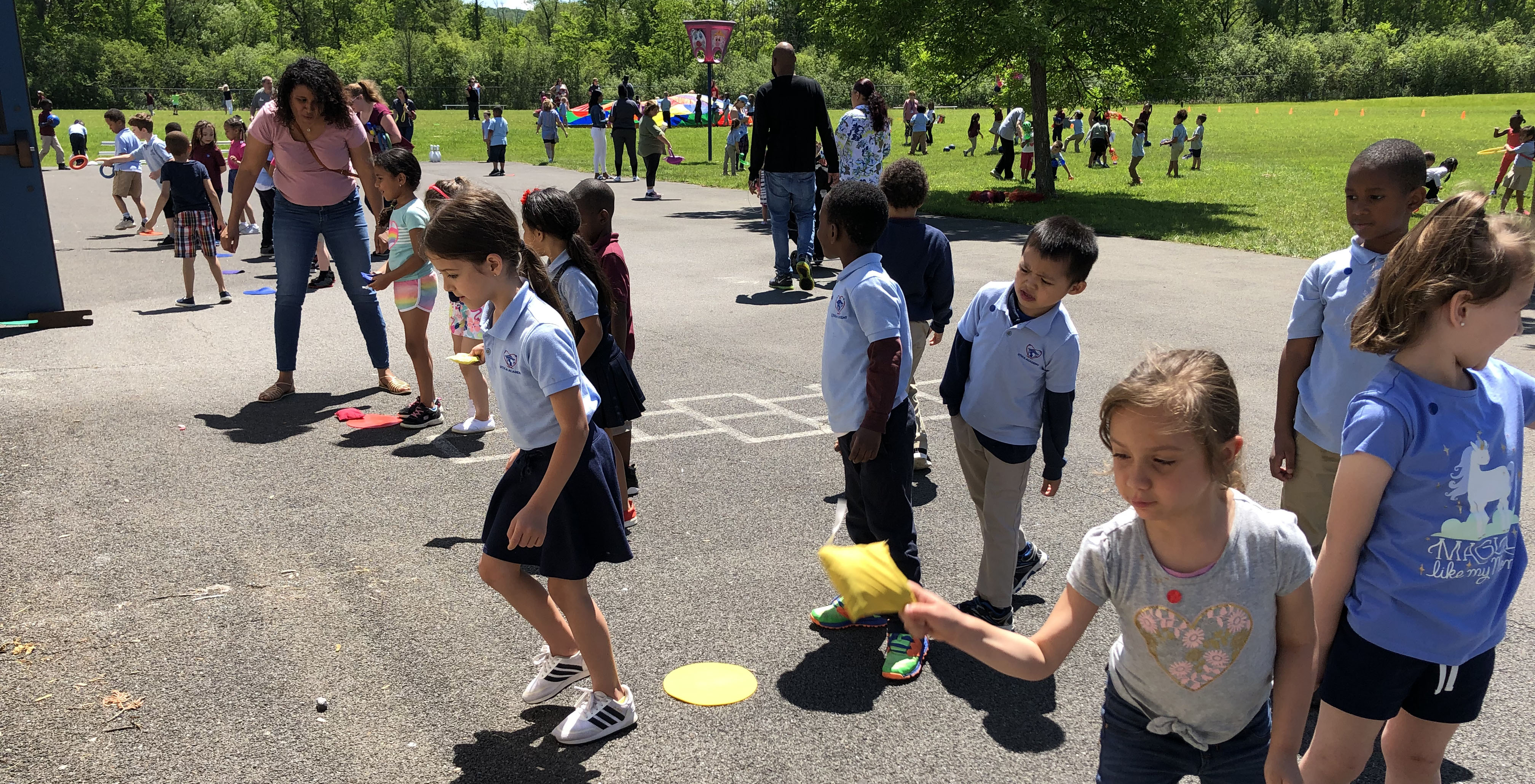 Elementary Atoms hosted their first annual Field Day event