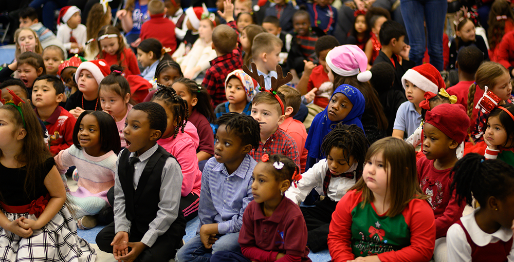 Elementary Atoms perform timeless holiday hits at their Winter Concert